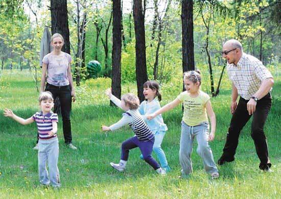 Детские активные игры на улице