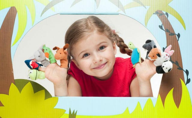 Ребенок и кукольный театр